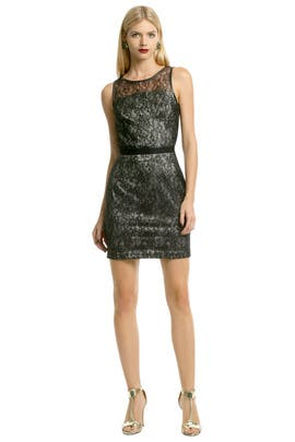 Sachin & Babi - Chrome Lace Sheath
