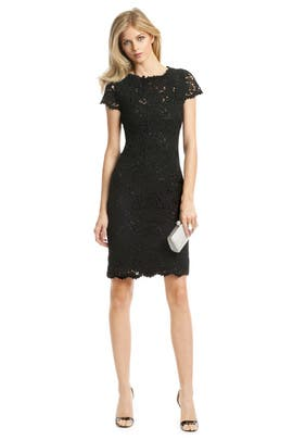 Elie Tahari - Loolu Lace Sheath
