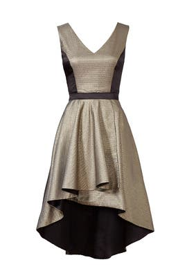 nha khanh - Gold Bar Dress