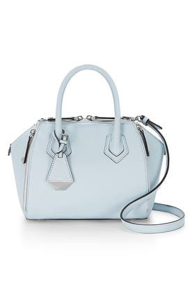 Blue Mini Perry Satchel by Rebecca Minkoff Handbags