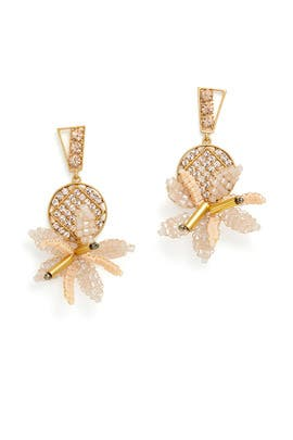 Bora Flower Earrings by Lulu Frost