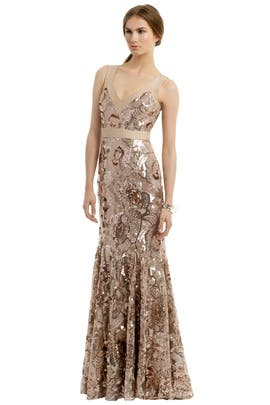 Badgley Mischka - Glisten Up Gown