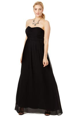 Black Athena Gown by Donna Morgan