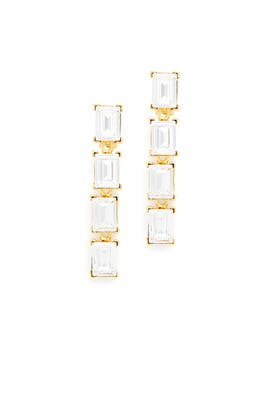Icing Earrings by Kenneth Jay Lane