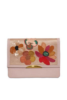 Posy Port Of Call Clutch by Lizzie Fortunato