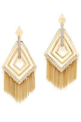 Cubist Fringe Earrings by Sarah Magid