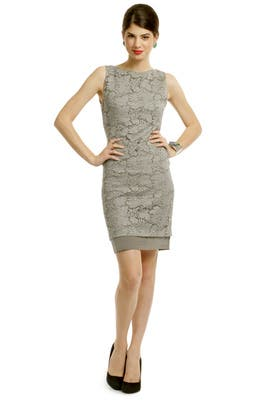 Corded Lace Sheath Dress by Vera Wang
