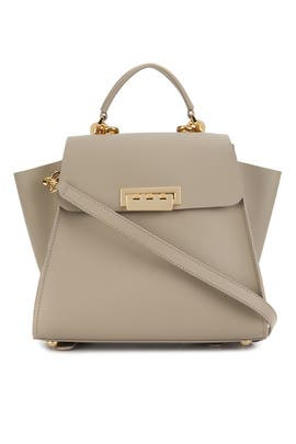 Beige Eartha Iconic Convertible Backpack by ZAC Zac Posen Handbags