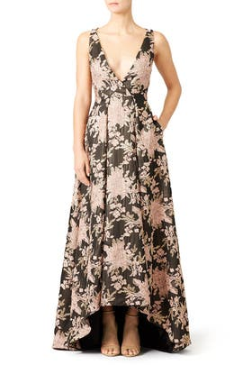 Floral Butterfly Gown