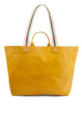 Yellow Le Big Sac Tote by Clare V.