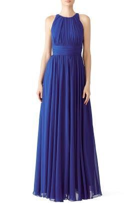Badgley Mischka - Corundum Sapphire Gown