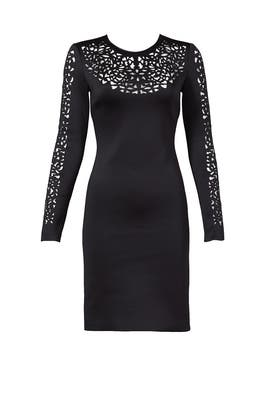 Clover Canyon - Lasercut Long Sleeve Dress