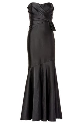 Badgley Mischka - Clear Night Gown
