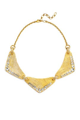 Yellow Gold Filipa Necklace by Ca and Lou