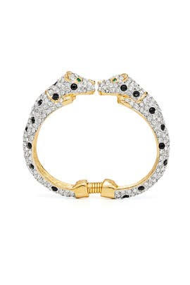 Leopard Bracelet by Kenneth Jay Lane
