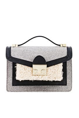 Shearling Mini Rider Bag by Loeffler Randall