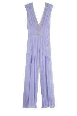 Lavender Jumpsuit by Alberta Ferretti