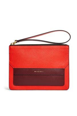 Orange Pochette Bag by Marni Accessories