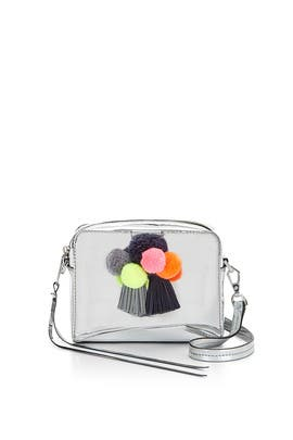 Silver Sofia Crossbody Bag by Rebecca Minkoff Handbags
