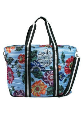 Floral Wingman Bag by Think Royln