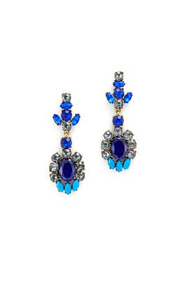 Slate & Willow Accessories - Starry Night Drop Earrings