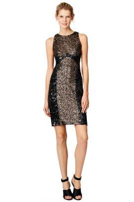 Badgley Mischka - Sequin Silo Dress