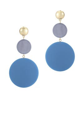 Blue Carter Earrings by Elizabeth and James Accessories