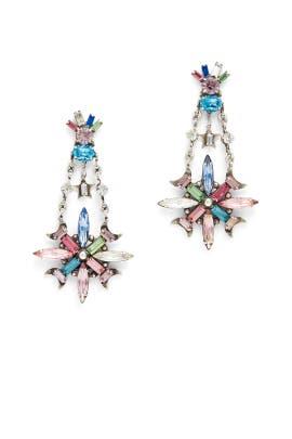 Jamilah Crystal Earrings by Dannijo