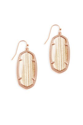 Rose Gold Elle Earrings by Kendra Scott