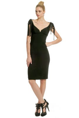 Alberta Ferretti - It Is Bow Time Dress