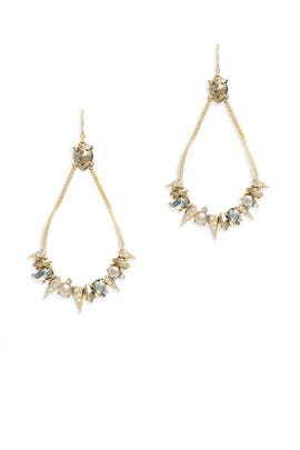 Crystal Futurist Earrings by Alexis Bittar