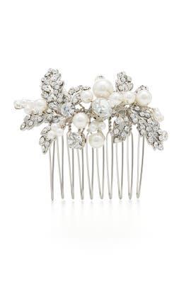 Delicate Cluster Mini Comb by RTR Bridal Accessories