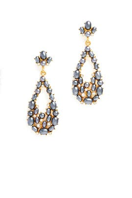 Renee Teardrop Earrings by Kenneth Jay Lane