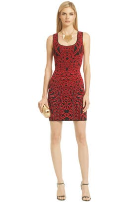 RVN - Rouge Puzzle Solver Dress