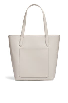 Mist Grey Pocket Tote by Tome x TDE