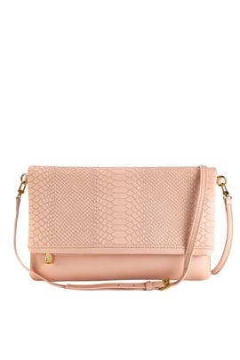 Desert Rose Carly Clutch by Gigi New York