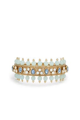 Tranquil Tryst Bangle by Marchesa Jewelry