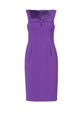 Purple Bow Dress by BOUTIQUE MOSCHINO