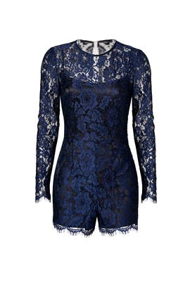 Cynthia Rowley - Midnight Lace Romper