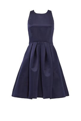Navy Mimi Bow Dress by ERIN erin fetherston
