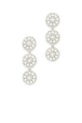 White Sun Earrings by Slate & Willow Accessories