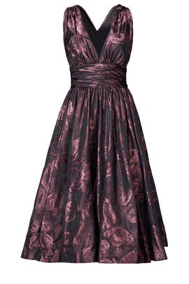 Shirred Frock Dress by Tracy Reese