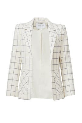 Box Grid Blazer by 10 CROSBY DEREK LAM