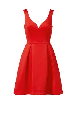 Slate & Willow - Red Petal Dress