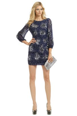 Badgley Mischka - Orion Sequin Orbit Sheath