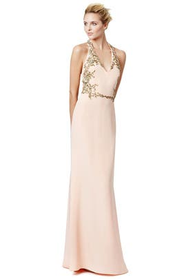 Marchesa Notte - Gilded Frame Gown
