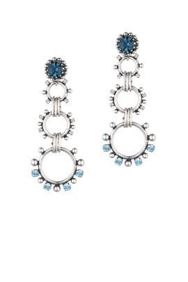 Silver Grayson Earrings by Dannijo