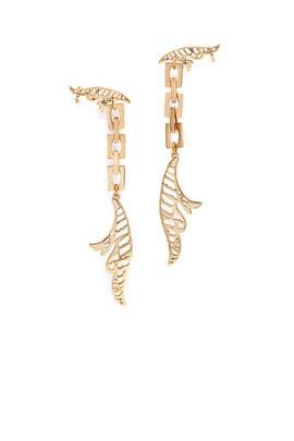 Wisteria Drop Earrings by Lulu Frost