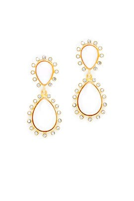 Becks Earrings by Kenneth Jay Lane