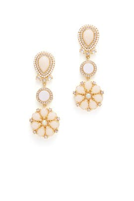 At First Blush Chandelier Earrings by kate spade new york accessories